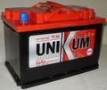 Аккумуляторная батарея Unikum 6СТ-75АПЗ (75Ач EN550A о.п.)